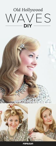This gorgeous retro hairstyle tutorial is perfect for the glamorous bride. Get stunning Old Hollywood waves with our step-by-step hair DIY. (scheduled via http://www.tailwindapp.com?utm_source=pinterest&utm_medium=twpin&utm_content=post79256265&utm_campaign=scheduler_attribution)