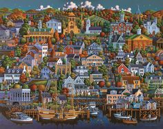 Plymouth Jigsaw Puzzle by Eric Dowdle