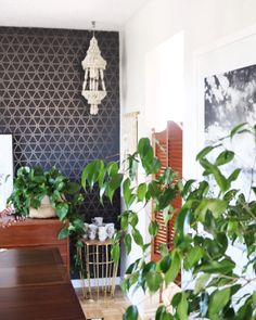 Interior Hello Lidy with our Wallpaper/behang Layers by Edward van Vliet - BN Wallcoverings