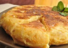 Omelette aux pommes de terre espagnole (Tortilla de patatas)