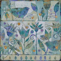Sue Davis ... technique and subtle colors are fascinating ...