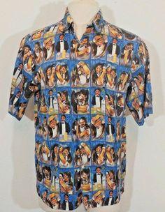 6e46d881 REYN SPOONER Guy Buffet Collection Bartender Vodka Hawaiian Shirt SIZE  Large #ReynSpooner #ButtonFront