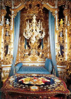 Linderhof Castle - Hall of Mirrors (From Photo CD) Interior Exterior, Luxury Interior, Interior Architecture, Interior Design, Linderhof Palace, Inside Castles, Europe Centrale, Dream Mansion, House Plans One Story
