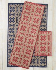 Nordic Star Woven Wool Rug