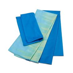 Serena Williams 3-pack Cityscape Cooling Towels and Infinity Wrap - Blue