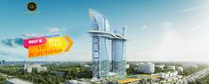 Bhutani Grandthum Noida Extension is the first project that Bhutani Infra has launched after the grand success of Alphathum. This commercial project will offer hyper-marts, spaces for multi-brand electronics stores, offices.
