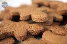 gingerbread men from rice and buckwheat flour
