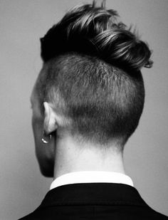 Short on Sides & Back w/ length on Top ♥ Men's Hairstyles