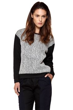 Paisie Boucle Top
