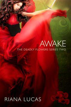 paranormal romance books, ya books, teen books, cover art, beautiful flowing dress, woman with sword