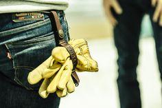 Porte-gants cuir - KYTONE MOTORCYCLE
