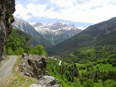 As Trapas. Enorme panorámica del valle de Bujaruelo