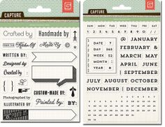 #papercraft #deals from Peachy Cheap: #stamps from Basic Grey - 2 sets for only $6.99!