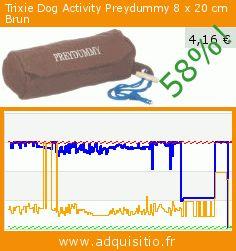 Trixie Dog Activity Preydummy 8 x 20 cm Brun (Divers). Réduction de 58%! Prix actuel 4,16 €, l'ancien prix était de 9,99 €. https://www.adquisitio.fr/trixie/dog-activity-preydummy-8-0