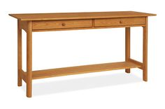 Heartwood solid wood console tables have Arts and Crafts style that makes them great furniture console tables Console Table Living Room, Modern Console Tables, Living Room Furniture, Home Furniture, Dining Room, Contemporary Hallway, Coffee Table Size, Table Sizes, Quality Furniture