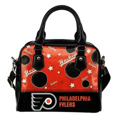 a574a9c3a87f Personalized American Hockey Awesome Philadelphia Flyers Shoulder Handbag