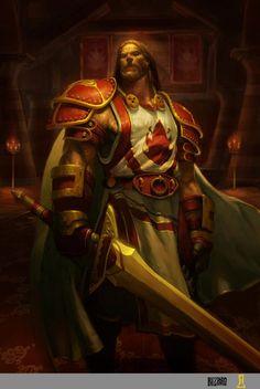 World of WarCraft Paladin Fantasy Male, Fantasy Armor, Fantasy World, Dark Fantasy, Dota Warcraft, Warcraft Art, World Of Warcraft, Character Portraits, Character Art
