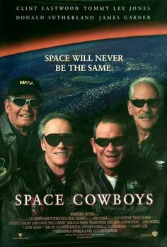 """Space Cowboys"" (2000) with Clint Eastwood, Tommy Lee Jones, Donald Sutherland & James Garner"