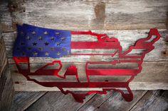 United States 2nd amendment custom metal art wall decor