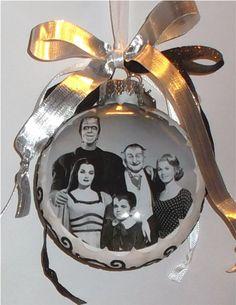 The Munsters inspired Tribute Christmas Ornament by KustomKeepsakesD on Etsy https://www.etsy.com/listing/169692593/the-munsters-inspired-tribute-christmas
