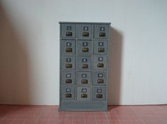 Miniature chest of drawers by cinen on Etsy
