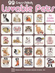Leisure Arts - 99 Luvable Pets