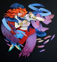 http://www.fubiz.net/2014/10/02/textured-cut-paper-illustrations/