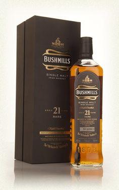 BUSHMILLS DISTILLERY http://www.masterofmalt.com/whiskies/bushmills/bushmills-21-year-old-whiskey/