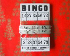 Bingo Cards for a DIY night with the family or friends.