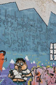 Streetart i  Reykjavik, Iceland