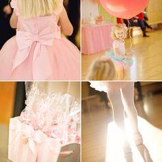 little girl's ballerina birthday party 2