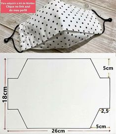 Sewing Hacks, Sewing Tutorials, Sewing Crafts, Sewing Projects, Diy Crafts, Easy Face Masks, Diy Face Mask, Mouth Mask Fashion, Creation Couture