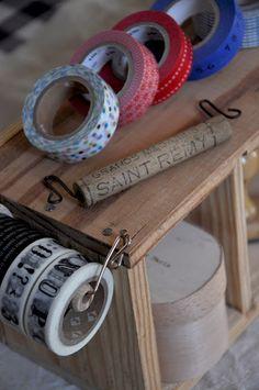 tape storage - L'Art de la Curiosité