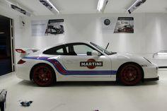 Porsche 997 GT3. Amazing Martini colours.