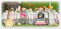 Alice In Wonderland ~ Little Wish Parties