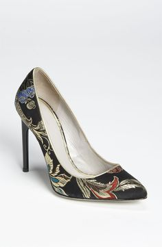 Jason Wu brocade pumps. #shoes