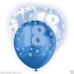 Blue Glitz 18th Birthday Candle 18th Birthday Decoration Ideas