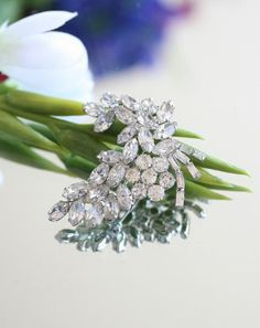 Brooch Pin Wedding Sash Wedding dress bride bridal by KDBridal, $40.00