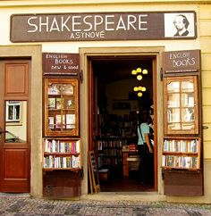 Shakespeare and Son ~ Prague
