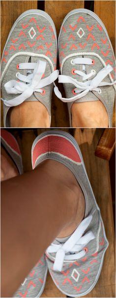 DIY-Sneakers (Diy Clothes Paint)