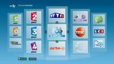 Accueil catchup TV Bbox Sensation #bboxsensation