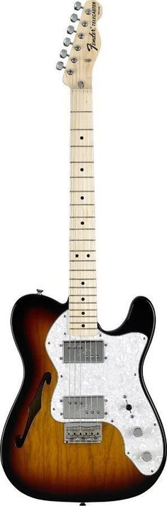 Fender Classic Series '72 Telecaster Thinline 1972 was a big year for the Fender Telecaster. Guitarist's had been hot-rodding their Tele's since the late 60's and Fender listened! Embarking on a new c