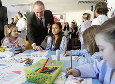 Visita al servicio de Pediatría del Hospital General Universitario de Alicante