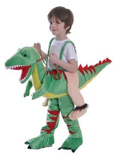 Child Step In Dinosaur Costume by Fancy Dress Ball