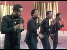 The Four Tops - I Cant Help Myself -- Men who sing AND move in rhythm....