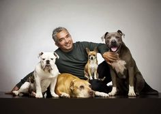 Cesar Millan- Brian got me tickets to see him in November! Can't wait!