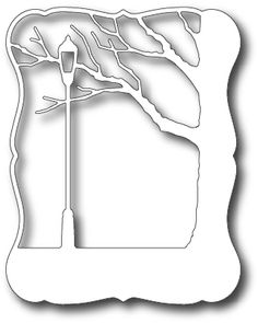 Memory Box Lamp Post Frame Die by Memory Box (123Stitch 7/30/13)
