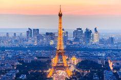 Blue Hour: Eiffel Tower, Paris, France