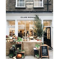 Club Monaco Monmouth Street Market, London.