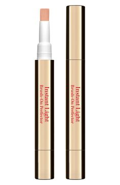What it is: A brush-on concealer that helps cover imperfections and shadowy areas in seconds.What it does: A stroke of this complexion-perfecting pen-formulated with the exclusive Light Optimizing Complex-disguises shadow and dark circles, illuminating skin with flawless radiance. An instant tightening effect visibly firms and smoothes, minimizing the signs of fatigue. Oat sugars instantly tighten, firm, moisturize and soften skin.How to use: Apply around #SkinCareCream Black Spots On Face, Brown Spots On Hands, Dark Spots, Skin Moles, Acne Skin, Oily Skin, Skin Rash, Brown Skin, Concealer